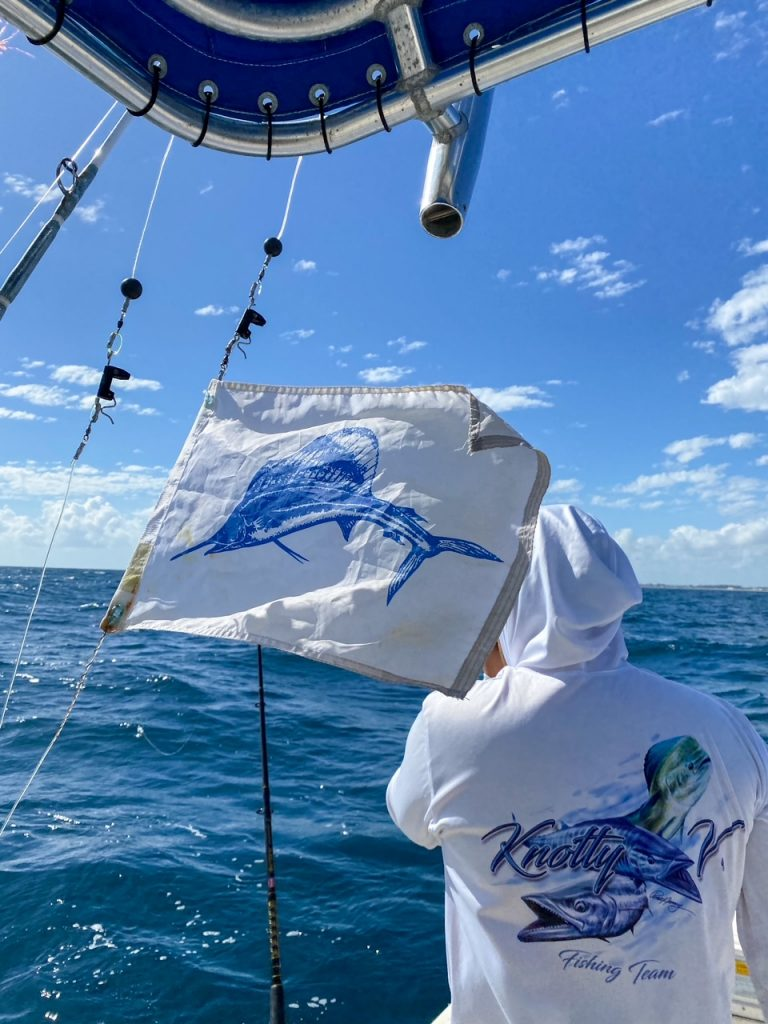 raise your flag after catching an Atlantic Sailfish