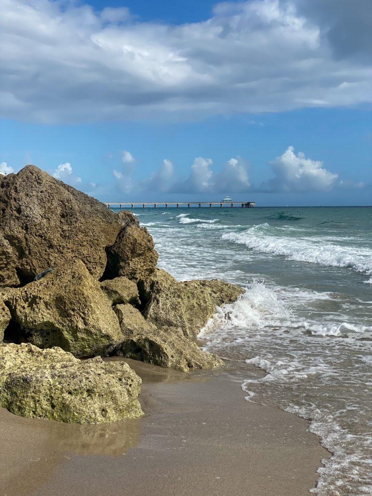 the pier in Deerfield Beach, Florida