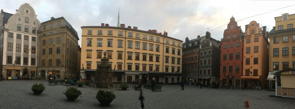 Gamla Stan or the Old Town of Stockholm, Sweden