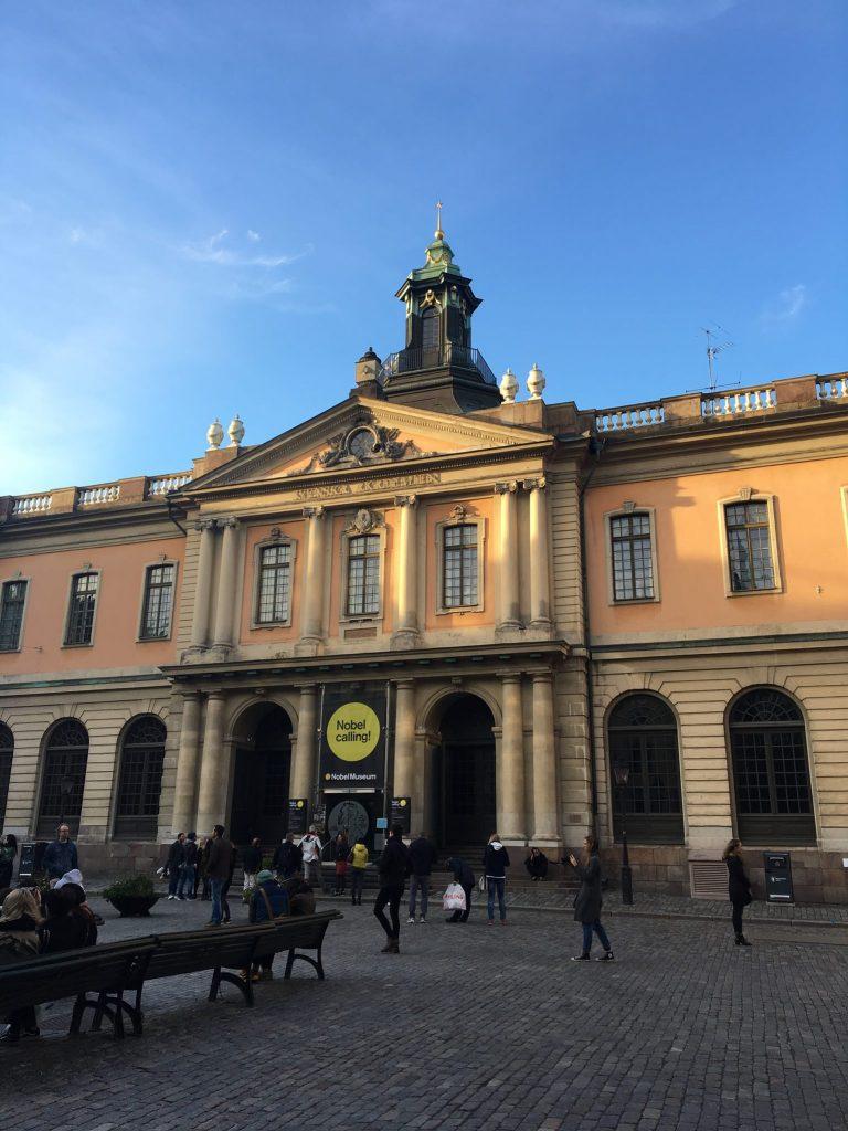 The Nobel Prize Museum in Stockholm, Sweden
