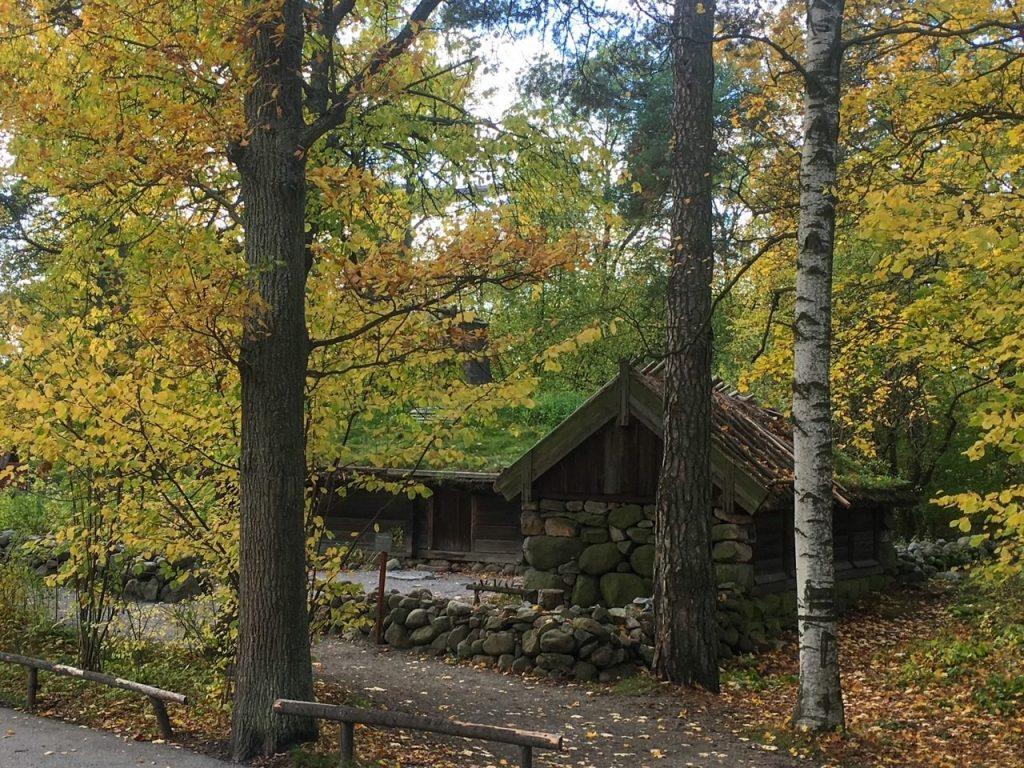 a cute old home at Skansen