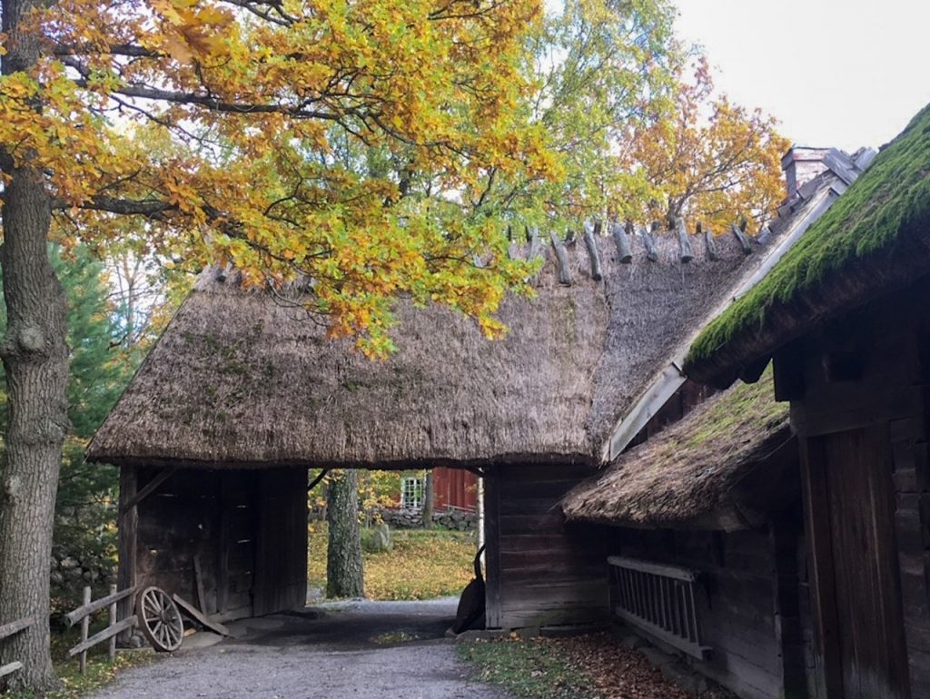 a charming old village at Skansen