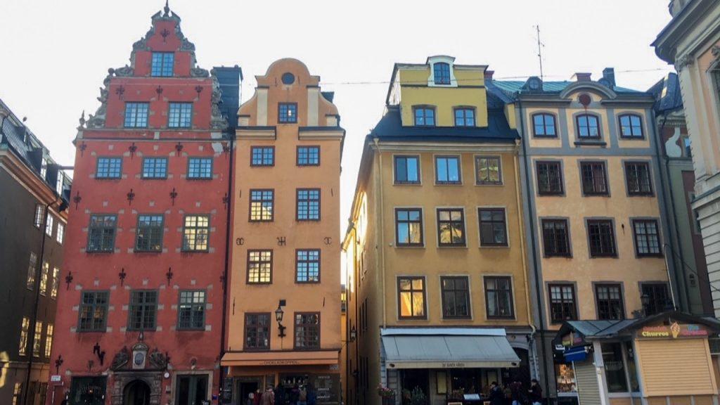 Gamla Stan, or Old Town, Stockholm, Sweden