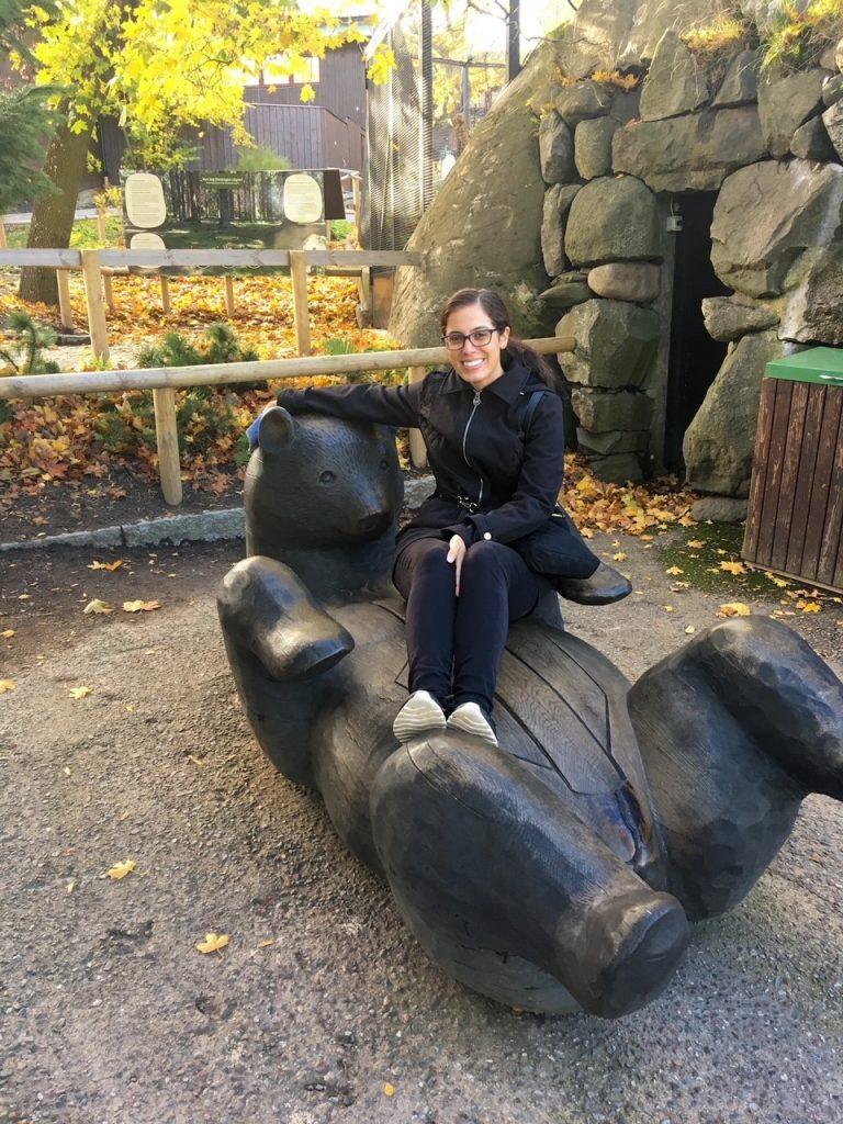 a cute photo opp at Skansen