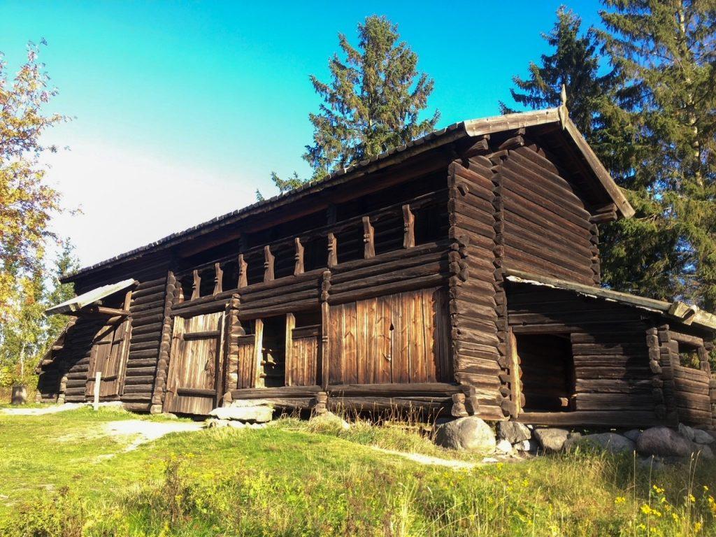 a charming old home at Skansen