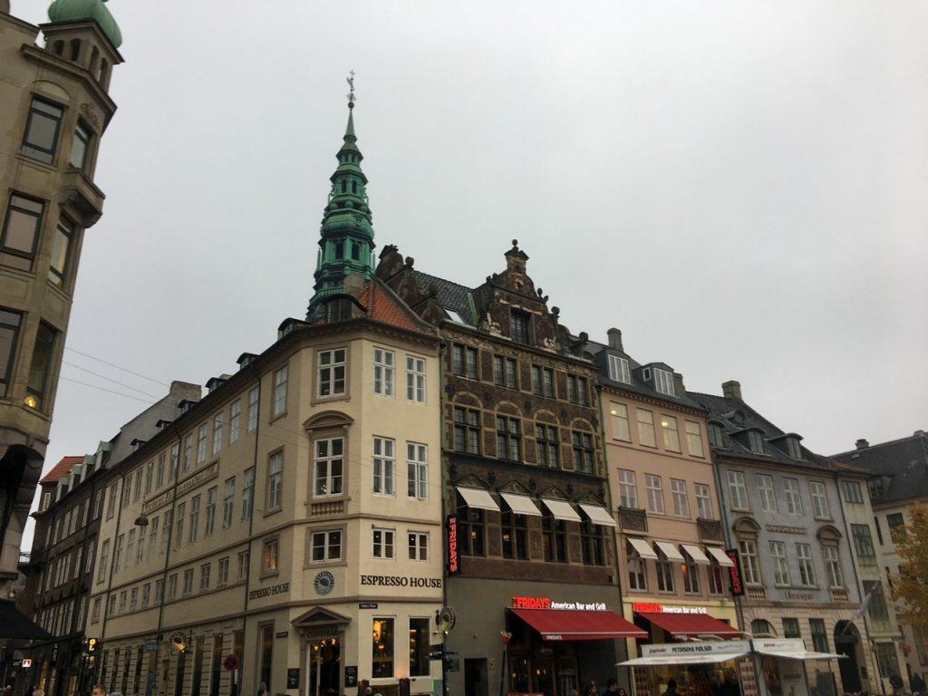 a fun shopping area in Copenhagen called Strøget