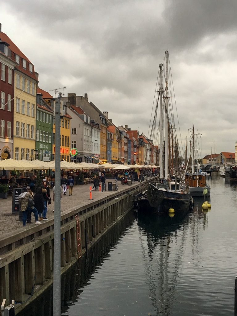 the lovely canal in Nyhavn