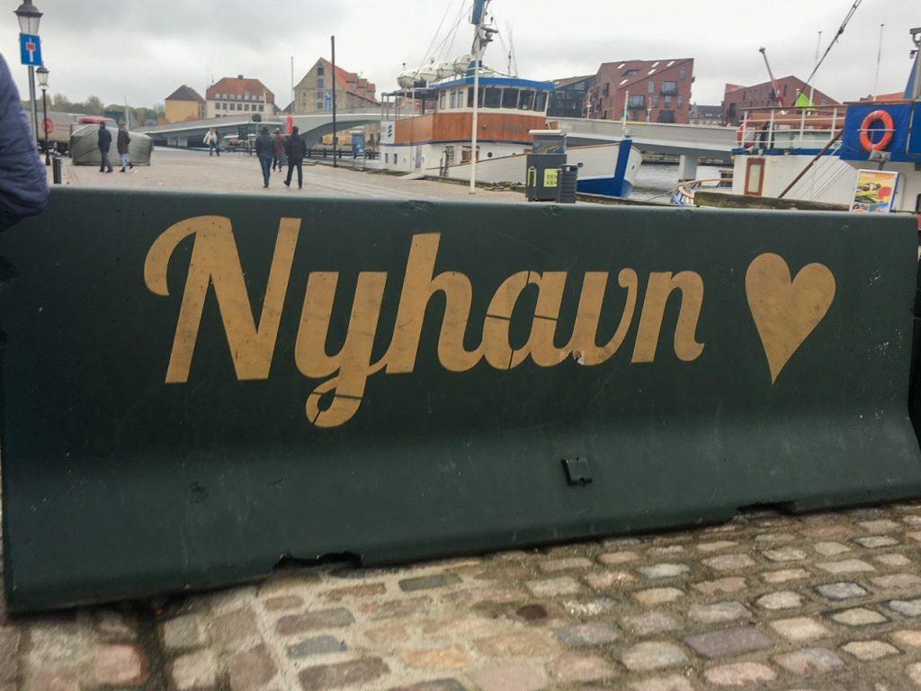 Nyhavn, a charming town in Copenhagen, Denmark