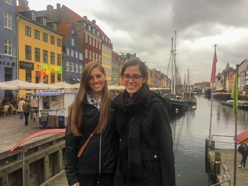 enjoying our time in Copenhagen, Denmark